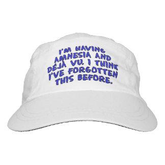 I'm having amnesia and deja vu... hat