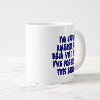 I'm having amnesia and deja vu... large coffee mug