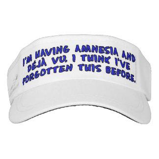 I'm having amnesia and deja vu... visor
