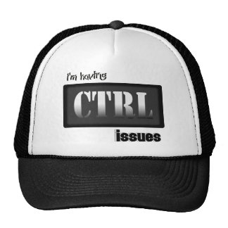 I'm Having CTRL Issues With Bkgrd & Effects Trucker Hats
