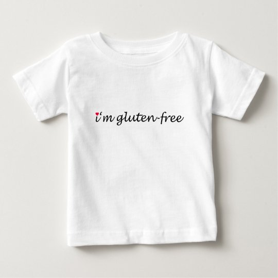 I'm (heart) gluten-free - infant baby T-Shirt