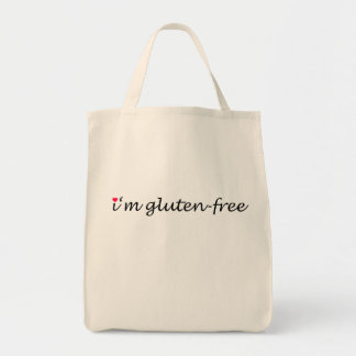 I'm (heart) gluten-free tote bag