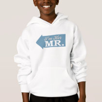 I'm Her Mr. (Blue Arrow) Hoodie