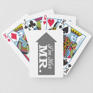 I'm Her Mr. (Gray Arrow) Poker Deck