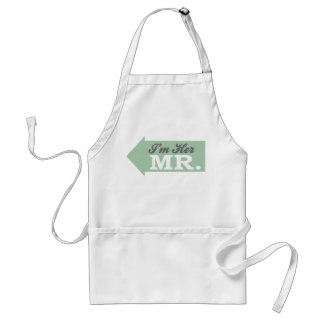 I'm Her Mr. (Green Arrow) Adult Apron