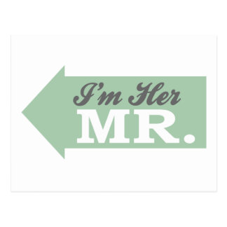 I'm Her Mr. (Green Arrow) Postcard