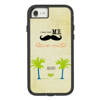 I'm Her Mr. Mustache Groom Beach Palm Tree Case-Mate Tough Extreme iPhone 8/7 Case