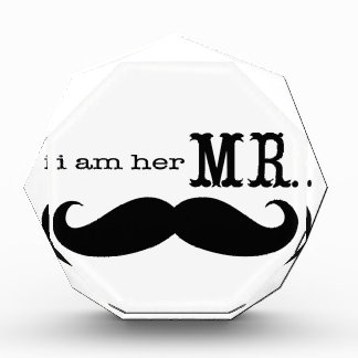 I'm Her Mr. Mustache Grooms Gifts Award