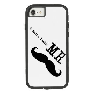 I'm Her Mr. Mustache Grooms Gifts Case-Mate Tough Extreme iPhone 8/7 Case