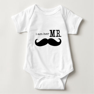 I'm Her Mr. Mustache Grooms Gifts Shirt
