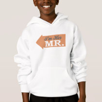 I'm Her Mr. (Orange Arrow) Hoodie