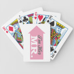 I'm Her Mr. (Pink Arrow) Bicycle Card Deck