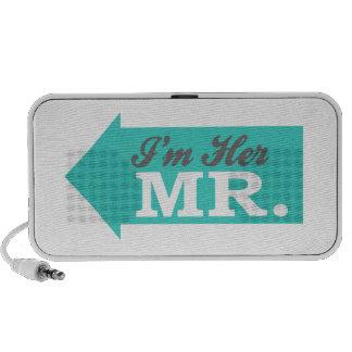 I'm Her Mr. (Teal Arrow) Travelling Speaker