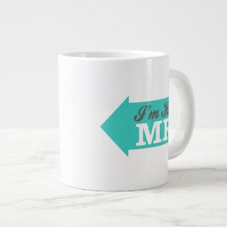 I'm Her Mr. (Teal Arrow) Extra Large Mugs