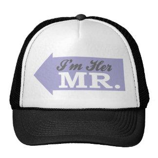 I'm Her Mr. (Violet Arrow) Mesh Hat