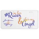 I'm Her Racer License Plate