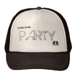 I'm here for the Party! Mesh Hats