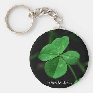 I'm here for You.... Basic Round Button Keychain