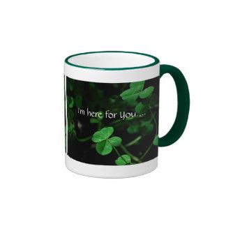 I'm here for You.... Ringer Coffee Mug