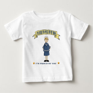 I'm Here To Pick Up My Mom (Navy) Baby T-Shirt