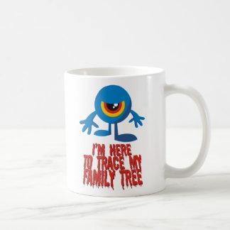 I'm Here To Trace My Family Tree Mugs