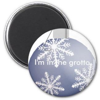 I'm hiding 2 inch round magnet