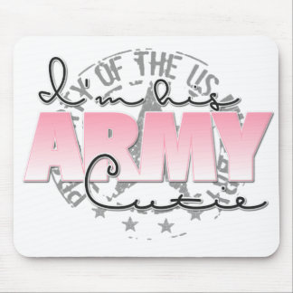 I'm His Army Cutie Mouse Pad
