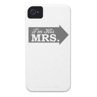 I'm His Mrs. (Gray Arrow) iPhone 4 Case