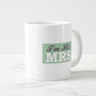 I'm His Mrs. (Green Arrow) Extra Large Mug
