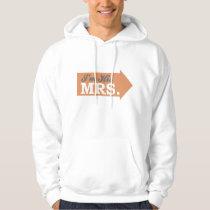 I'm His Mrs. (Orange Arrow) Hoodie