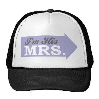I'm His Mrs. (Violet Purple Arrow) Hat