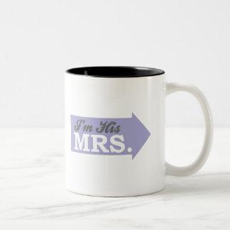 I'm His Mrs. (Violet Purple Arrow) Mug