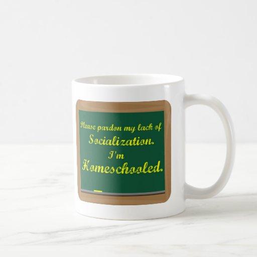 I'm homeschooled. coffee mug