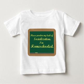 I'm homeschooled. t-shirt
