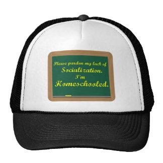 I'm homeschooled. trucker hat