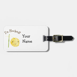 I'm Hooked Bag Tag