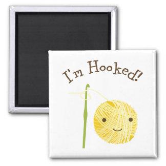 I'm Hooked! Magnet
