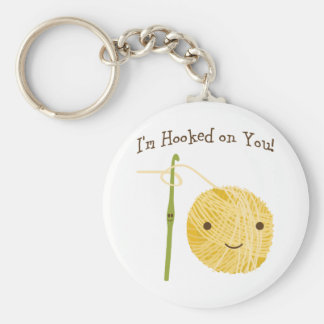 I'm Hooked on You! Keychain