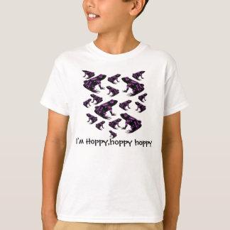 I'm Hoppy,hoppy ,hoppy kids shirt