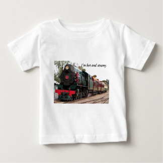 I'm hot and steamy: Pichi Richi steam train Infant T-shirt