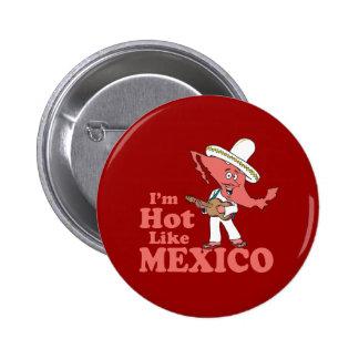 I'm Hot Like Mexico Pins