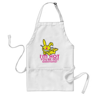 I'm Hot You're Not Adult Apron