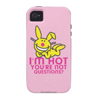 I'm Hot You're Not iPhone 4 Cover