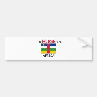 I'm HUGE In AFRICA Bumper Stickers