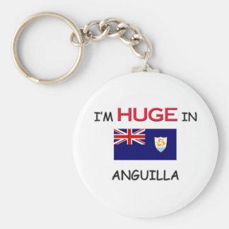 I'm HUGE In ANGUILLA Keychain