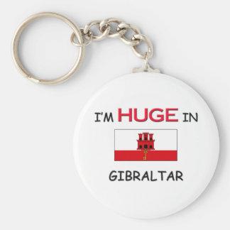 I'm HUGE In GIBRALTAR Keychain