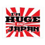 I'm Huge In Japan Postcards