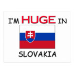 I'm HUGE In SLOVAKIA Postcard