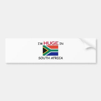 I'm HUGE In SOUTH AFRICA Bumper Stickers