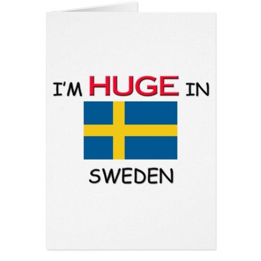 I'm HUGE In SWEDEN Greeting Card